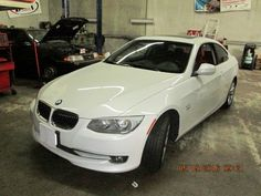 2012 BMW 335iX in for water pump replacement