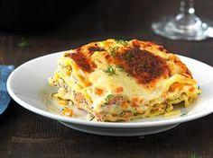 Lachs-Gemüse-Lasagne