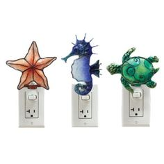 Sea Life Night Light Adorable sea life accent night lights. ����� Comes in 3 Styles: � � � � � � 1- Starfish � � � � � � 2- Seahorse � � � � � � 3- Sea Turtle  6