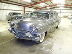 1956 Cadillac Landau Hearse by Superior