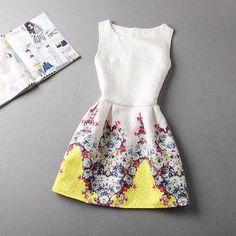 ZR7 New Fashion Sexy European Style Butterfly Print Casual Dress Vestidos Party Dresses Women Summer Dress LJ2309