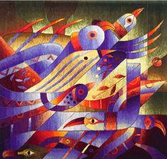 maximolauratapestryart.com  Maximo Laura Tapestries for sale and exhibit