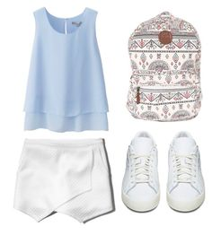 My First Polyvore Outfit by milinamechta on Polyvore featuring polyvore fashion style Uniqlo Abercrombie & Fitch adidas Originals Billabong clothing