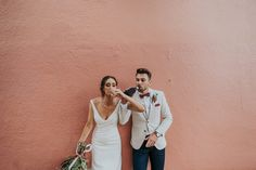 Kelly and Chad Fremantle Wedding Romantic Wedding Receptions, Nontraditional Wedding, Romantic Weddings, Best Wedding Photographers, Destination Wedding Photographer, V Neck Wedding Dress, Wedding Dresses, Here Comes The Bride