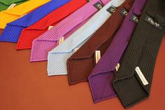 Drake's of London. Love these ties. I own one in navy.