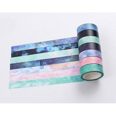 8M Retro spaper Washi Paper Sticky tape Scrapbook Masking Adhesive PAL