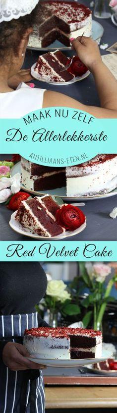 Red Velvet cake bolo di red velvet taart antilliaans recept jurino