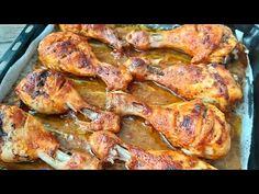 Αυτή η εύκολη συνταγή με ειδική σάλτσα θα είναι νούμερο ένα για εσάς - YouTube Salsa, Tandoori Chicken, Chicken Recipes, I Am Awesome, Roast, Food And Drink, Easy Meals, Turkey, Ethnic Recipes
