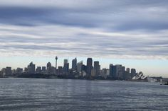 Sydney cloudy morning
