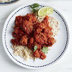Chicken Tikka Masala Recipe | CookingLight.com #myplate, #protein