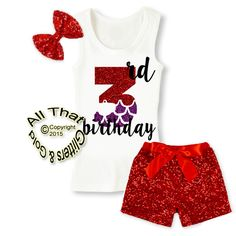 Red and Purple Mermaid Glitter Birthday Sequin Shorts Outfits Glitter Shorts, Sequin Shorts, Short Outfits, Girl Outfits, White Leotard, Wet T Shirt, Red Hoodie, Warm Coat, Red Purple