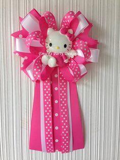 hello kitty mommytobe baby shower corsage mommy to be corsage baby shower corsage