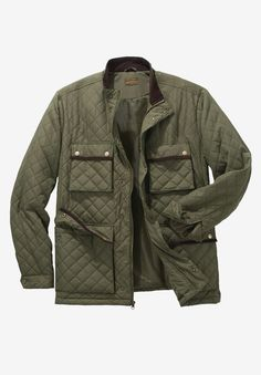 Buy this Big and Tall Quilted Jacket by Boulder Creek® and more Big and Tall Casual Jackets from KingSizeDirect. The Big & Tall Experts.