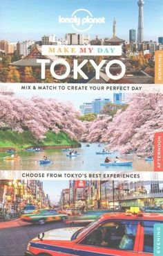 Lonely Planet: The world's leading travel guide publisher Lonely Planet Make My Day Tokyo is a unique guide that allows you to effortlessly plan your perfect day. Flip through the sections and mix and
