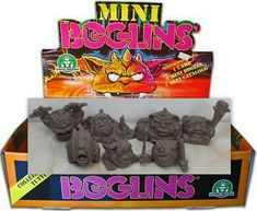 Mini Boglins - Grey - 7 Different Types of Mini Figures - Monster in my Pocket My Pocket, Comic Books, Mini, Ebay, Art, Art Background, Drawing Cartoons, Kunst, Comic Book