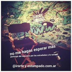 #MuyBuenDomingo #dia #participa del #concurso de #suicidesquad en @irarte y estampado.com.ar