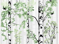 Luontopolku Curtain Panel - designed by Vallila Interiors in Helsinki and exclusive in NZ to Harvey Furnishings. Tree Trunks, Helsinki, Panel Curtains, Interiors, Design, Decoration Home, Decor, Sheet Curtains