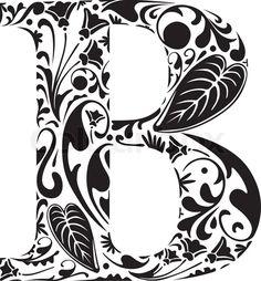 Stock vektor af 'Floral B'