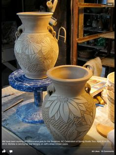 Michele Hastings and Jeff Brown Pottery