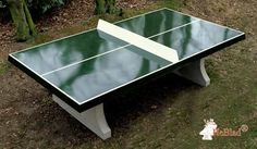 The Amsterdam Outdoor Table Tennis Table