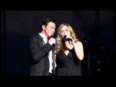 "Mario Frangoulis and Lara Fabian met live on stage in Athens, singing the song in both languages.What a Wonderful World - ""All Alone Am . Music Songs, My Music, Elaine Paige, Lets Play Music, Boston Pops, Nights In White Satin, Brenda Lee, Greek Music, Michael Buble"