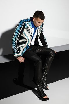 Balmain Spring 2015 Menswear Collection on Style.com: Runway Review