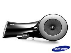 Dual Docking Audio Samsung compatible con Galaxy, iPod, iPhone y iPad