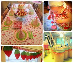 Strawberry Shortcake Party - Details in a Nutshell