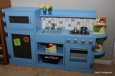 Ana White | One Piece Play Kitchen - DIY Projects