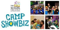 Recommended Summer Camps for kids in San Antonio: Camp Showbiz, The Art of Adventure! by The Magik Theatre