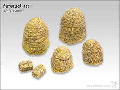 Haystack Set | 15mm