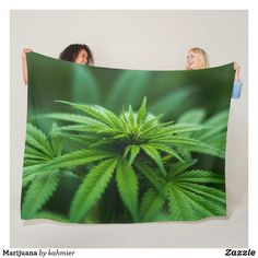 Marijuana Fleece Bla