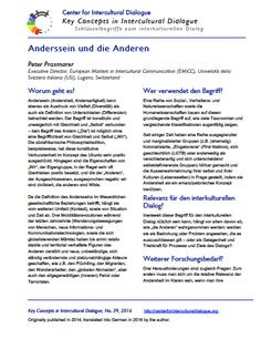 KC39 Otherness_German