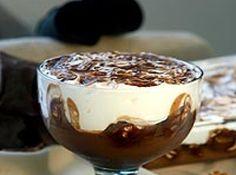 Receita de Pavê de chocolate com suspiros - pavê. Leve ao freezer e deixe gelar por 3h. Retire do freezer meia hora antes de servir. Dicas: Use o Marshmallow Dr. Oetker para fazer os...