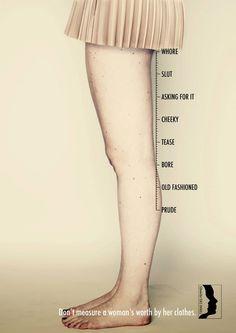 כמה זנותית התלבשת?