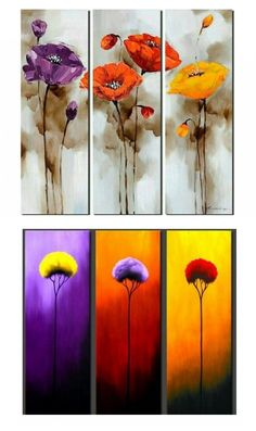 Extra large hand painted art paintings for home decoration. Large wall art, canvas painting for bedroom, dining room and living room, buy art online. #painting #art #wallart #walldecor #homedecoration #abstractart #abstractpainting #canvaspainting #artwork #largepainting 3 Piece Canvas Art, 3 Piece Painting, 3 Piece Wall Art, Oil Painting Flowers, Large Painting, Hand Painting Art, Abstract Flower Art, Abstract Art For Sale, Handmade Canvas Art
