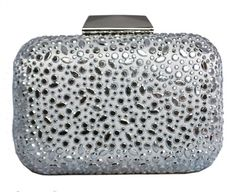 Chicastic Silver Bridal Rhinestone Crystal Hard Box Minaudiere Wedding Evening Cocktail Clutch Purse Chicastic, To enter online shopping Just CLICK on AMAZON right HERE http://www.amazon.com/dp/B00DEL4KN0/ref=cm_sw_r_pi_dp_t6jotb1Z9G2C85E3