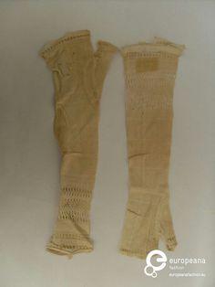 Pitsiä. 1900 alun Handwear/pitsikämmekkäät.
