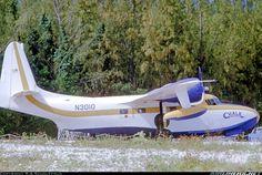 Grumman G-73 Mallard aircraft picture.  Piston-engined Mallard of Chalks preparing to depart on the scheduled service to Miami Seaplane Base.