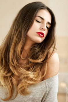 (3) ombre hair | Tumblr