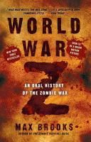 """World War Z, by Max Brooks - Max Brooks, son of actor Mel Brooks, chronicles the fictitious """"zombie wars"""" that nearly decimated the human population, with first-hand accounts from people who have had a brush with the undead and facts and figures documenting how many undead currently roam the planet."""