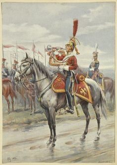 Bronislaw Gembarzewski - Trumpeter of the 3rd Regiment of Lithuanian Lancers of Napoleon's Imperial Guard.