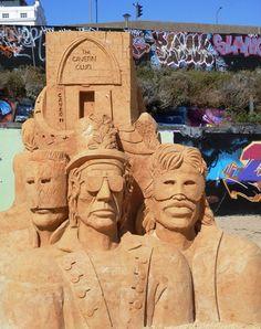Brighton Sand Sculpture Festival - 1960s by Montse Cuesta.