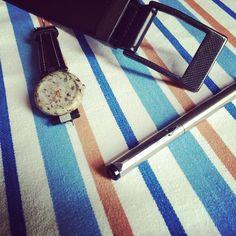 #KASPARI #carbonfiber #buckle #belt #parkerpens #tissot #watch #photoshoot