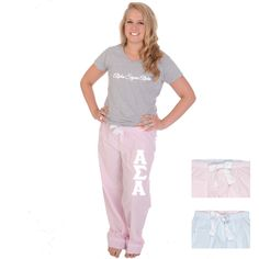 Now available Alpha Sigma Alpha... Shop http://manddsororitygifts.com/products/alpha-sigma-alpha-pajama-pants-stripe?utm_campaign=social_autopilot&utm_source=pin&utm_medium=pin