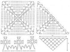Бактус из квадратных мотивов