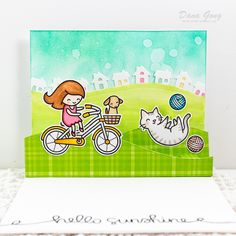 Handmade cardmaking ideas for creative, fun, cute, elegant cards using stamps, inks, watercoloring and other mediums.