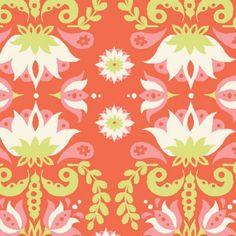 Groovy Lotus - Raaga by Monaluna - Organic Cotton Knit | Simplifi Fabric