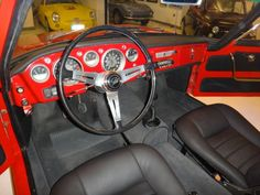 1963 Fiat Ghia 1500 For Sale Interior