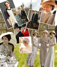 Downton Abbey. Love the elegant, graceful costumes. I would like to wear them!